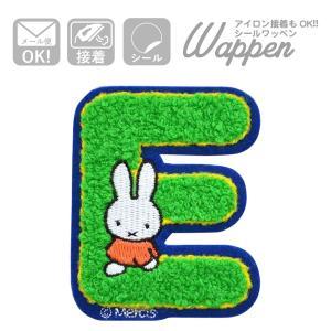 ワッペン ミッフィー アルファベット(E) 名前 作り方 D02Y5921 wappenstore