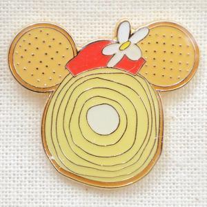 ピンバッジ ディズニー スウィーツシリーズ(ミニーマウス/バウムクーヘン) DYPIN-09|wappenstore