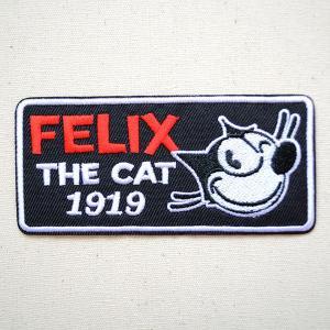 ワッペン フィリックスザキャット Felix The Cat(ウインク) 名前 作り方 FFC-002-A|wappenstore