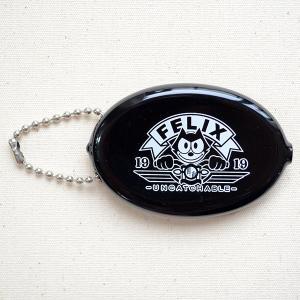 ラバーコインケース フィリックスザキャット Felix The Cat(ブラック/Head Light) アメリカ製 FOA-001-HL|wappenstore