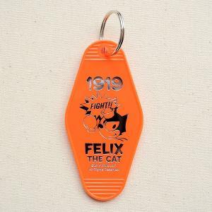 ホテルキーホルダー フィリックスザキャット(オレンジ) FOJ-001-F-OR