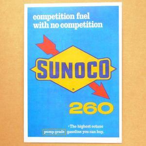 ガレージステッカー/シール スノコオイル Sunoco GS-002|wappenstore