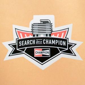 ガレージステッカー/シール チャンピオン Champion(ダイカット) GS-011|wappenstore