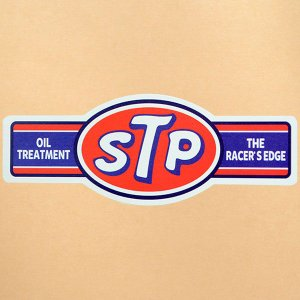 ガレージステッカー/シール STPオイルトリートメント GS-027|wappenstore