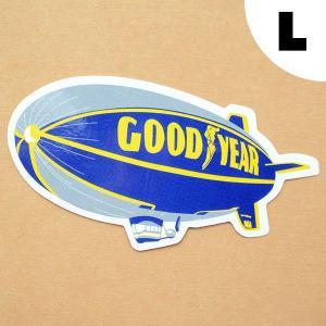ロゴステッカー/シール グッドイヤー Goodyear(飛行船/L)|wappenstore