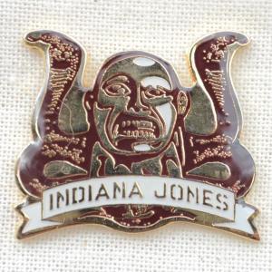 ピンバッジ インディジョーンズ Indiana Jones(スネーク&ロゴ) IJ-PINS-02|wappenstore