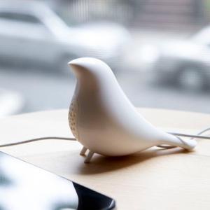 携帯用 コンパクト スピーカー [KIKKERLAND] Songbird Speaker / [キッカーランド] ソングバードスピーカー(全2色) *メール便不可 wappenstore