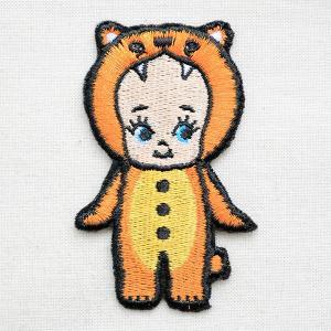 ワッペン キューピー(キグルミクマ) ローズオニール 着ぐるみ 熊 くま 動物 アニマル|wappenstore