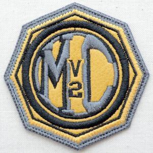 レザーロゴワッペン Harley-Davidson ハーレーダビッドソン(MC/V2)|wappenstore
