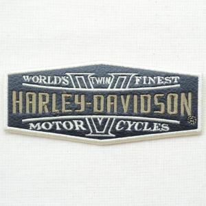 レザーロゴワッペン Harley-Davidson ハーレーダビッドソン(World's Finest) wappenstore