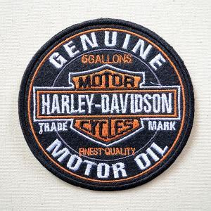 ワッペン ハーレーダビッドソン Harley-Davidson 名前 作り方 LFW-005|wappenstore