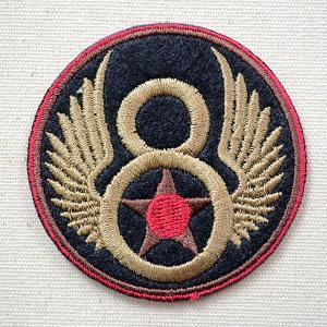 ミリタリーワッペン U.S.Air Force エアフォース アメリカ空軍(8/ラウンド) S 名前 作り方 LFW-007|wappenstore