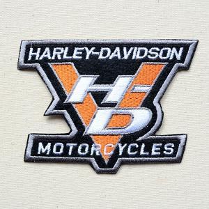 ワッペン ハーレーダビッドソン Harley-Davidson(HD) 名前 作り方 LFW-017|wappenstore