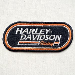 ワッペン ハーレーダビッドソン Harley-Davidson(レーシング) 名前 作り方 LFW-018|wappenstore