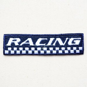 ワッペン RACING 名前 作り方 LFW-028|wappenstore