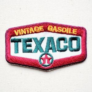 ワッペン TEXACO VINTAGE GASOILE 名前 作り方 LFW-029 wappenstore
