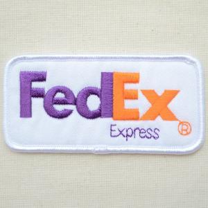 ロゴワッペン FedEX Express フェデックス エクスプレス|wappenstore
