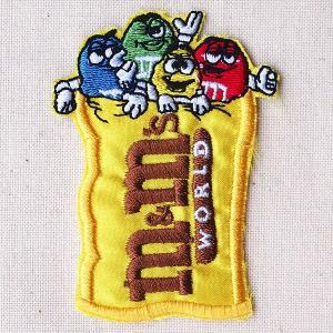 ロゴワッペン M&M's Chocolate エムアンドエムズ チョコレート|wappenstore
