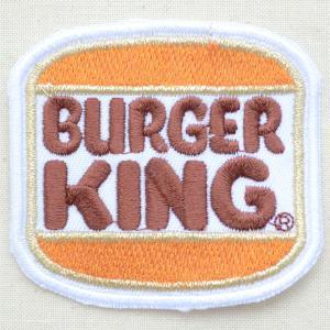 ロゴワッペン Burger King バーガーキング(スクエア)|wappenstore
