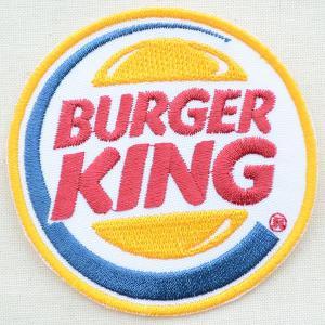 ロゴワッペン Burger King バーガーキング(ラウンド)|wappenstore