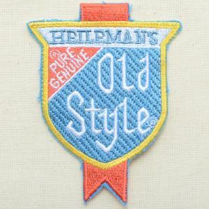ロゴワッペン Old Style ハイルマン オールドスタイルビール|wappenstore
