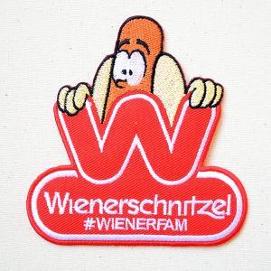ワッペン ウィンナーシュニッツェル/Wienerschnitzel 名前 作り方 LGW-044|wappenstore