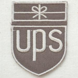 ロゴワッペン UPS ユナイテッドパーセルサービス|wappenstore