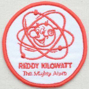 ロゴワッペン Reddy Kilowatt レディキロワット(ラウンド)|wappenstore
