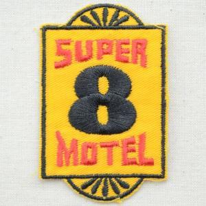 ロゴワッペン Super 8 Motel スーパーエイトモーテル|wappenstore