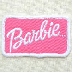 ロゴワッペン Barbie バービー|wappenstore