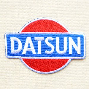 ロゴワッペン Datsun ダットサン 名前 作り方 LGW-067|wappenstore