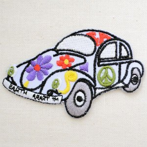 ワッペン Peace Car ピースマークカー 車|wappenstore