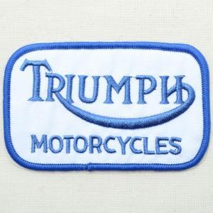 ロゴワッペン Triumph トライアンフ(モーターサイクルズ) wappenstore