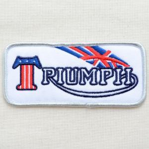 ロゴワッペン Triumph トライアンフ(ユニオンジャック) wappenstore