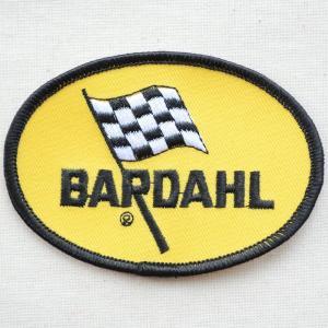 ロゴワッペン Bardahl バーダル オイル(糊なし) wappenstore