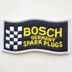 ロゴワッペン ボッシュ Bosch スパークプラグス(シルバー)|wappenstore
