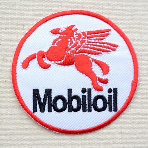 ワッペン モービル ペガサス/Mobiloil 名前 作り方 LGW-158 wappenstore