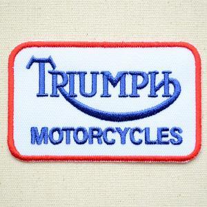 ロゴワッペン トライアンフ Triumph 名前 作り方 LGW-165|wappenstore