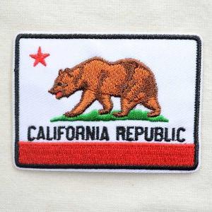 アメリカンワッペン CALIFORNIA REPUBLIC/カリフォルニア州旗|wappenstore