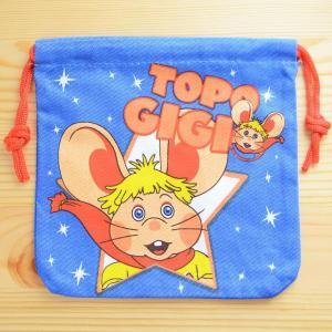 アメリカンキャラ巾着袋(S) トッポジージョ Topo Gigio LJK-S002|wappenstore