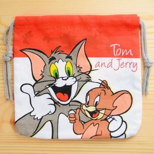 アメリカンキャラ巾着袋(S) トムとジェリー Tom and Jerry LJK-S003|wappenstore