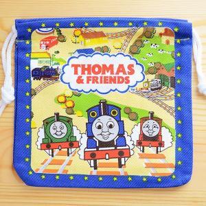 アメリカンキャラ巾着袋(S) きかんしゃトーマス Thomas&Friends LJK-S004|wappenstore