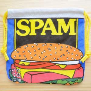 アメリカンロゴ巾着袋(S) スパム Spam LJK-S009|wappenstore