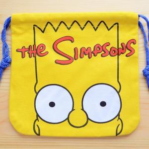 アメリカンキャラ巾着袋(S) シンプソンズ Simpsons LJK-S024|wappenstore