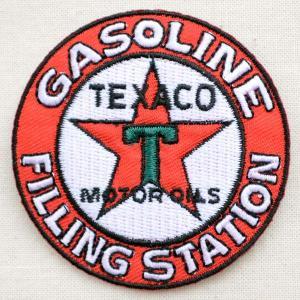 ロゴワッペン Texaco テキサコ モーターオイル|wappenstore