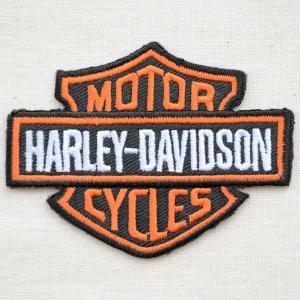 ロゴワッペン Harley-Davidson ハーレーダビッドソン モーターサイクルズ wappenstore