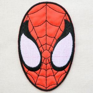 ワッペン スパイダーマン Spider-Man(フェイス)|wappenstore