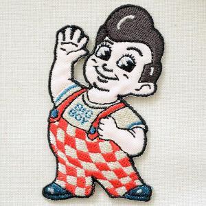 ワッペン Big Boy ビッグボーイ(ボビー/ダイカット)|wappenstore
