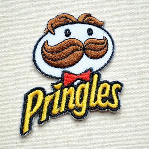 ワッペン プリングルス/Pringles 名前 作り方 LJW-048|wappenstore