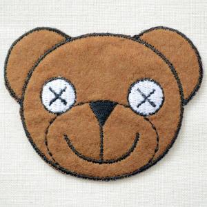 ワッペン Mr.Bean Bear ミスタービーン テディベア(くま)|wappenstore